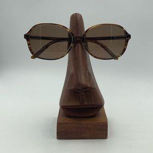 Liz Claiborne L252 Brown Oval Sunglasses Frames